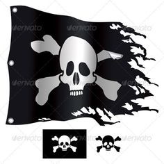 Realistic Graphic DOWNLOAD (.ai, .psd) :: http://sourcecodes.pro/pinterest-itmid-1002922258i.html ... Jolly Roger ...  adventure, black, cartoon, crossbones, death, horror, human bone, illustration, isolated on white, jolly roger, pirate, pirate flag, skull, symbol, torn, vector  ... Realistic Photo Graphic Print Obejct Business Web Elements Illustration Design Templates ... DOWNLOAD :: http://sourcecodes.pro/pinterest-itmid-1002922258i.html