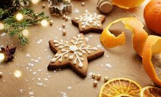 Christmas Sweets, Christmas Love, Christmas Crafts, Christmas Decorations, My Recipes, Baking Recipes, Biscotti, Gingerbread Cookies, Food And Drink