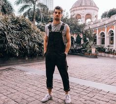 ideas how to style overalls winter fall Fashion Mode, Urban Fashion, Fashion Tips, Fashion Photo, Style Fashion, Men Looks, Herren Outfit, Mode Chic, Teen Fashion
