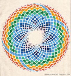Sacred Geometry / Torus / Inner Peace by Sarjana Sky, via Flickr