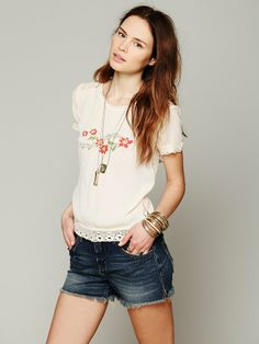 Free People Eye For Detail Top at Free People Clothing Boutique