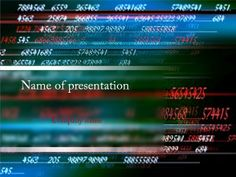 Mathematics Numbers powerpoint template