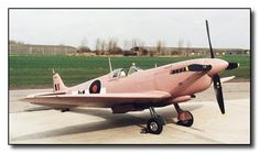 WW11 fighter plane in its original pink color. They were supposed to be invisible at sunrise and sunset.   13 Old War Photographs You Won't Believe Aren't Photoshopped | Cracked.com