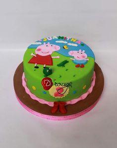 Torta Peppa Pig 100 % Comestible.