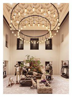 Massimo Dutti Flagship Store. Serrano 48, Madrid - Ground floor, Women's Collection.