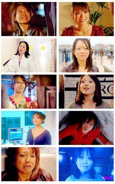 Toshiko Sato, Naoko Mori, Torchwood. Naoko Mori, Old Sci Fi Movies, John Barrowman, I'm Sad, Joss Whedon, Television Program, Captain Jack, Torchwood, David Tennant