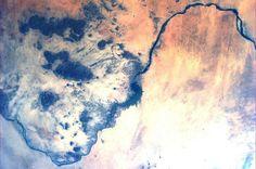 The Nile. Sudan. Karen L. Nyberg (AstroKarenN) no Twitter