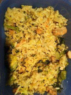 Risotto de brocolis aux amandes - Recette de cuisine Marmiton : une recette