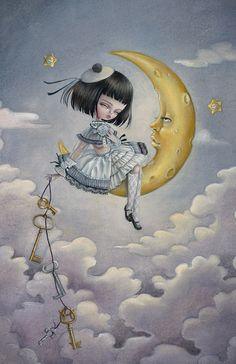♥•*¨*• la clé de la lune