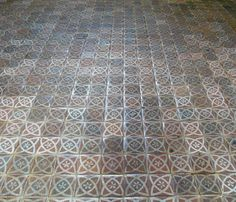Medieval floor tiles, Winchester Cathedral by World of Good, via Flickr