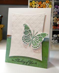 memory box butterfly die