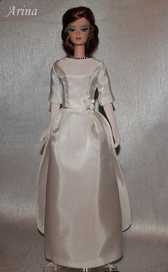Jacqueline Kennedy Inaugural Gala gown by arina_fashions, via Flickr