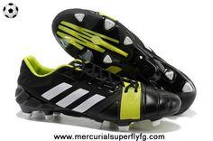 Authentic TRX FG Adidas Nitrocharge 1.0 (Black/White/Electricity)