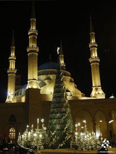 Christmas spirit in Beirut #WeAreLebanon  #Lebanon #WeAreLebanon