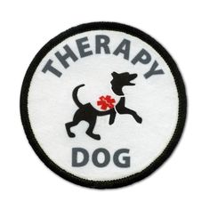 Service Dog Patches For Therapy Dogs Working Dogs - SitStay