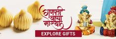 Send Ganesh Chaturthi Gifts to India - Talash.com Gift Vouchers, Online Gifts, Ganesh, Place Card Holders, India, Stuff To Buy, Gift Cards, Ganesha, Gift Certificates