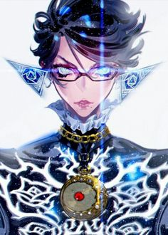 Bayonetta Art, Nice! Even though I do miss her flowing hair in the second game. Video Game Art, #gaming