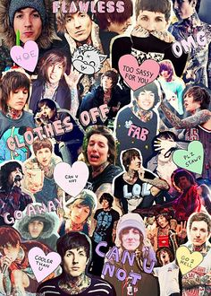My new screensaver ;) Oliver Sykes - Bring Me The Horizon