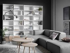 Simple Scandinavian look ☁️ #boconcept #scandinavian #design #interiordesign #bornholm #carmo #copenhagen #boconceptwarsaw #boconceptwarszawa #inspiration #furniture #sofa #living #urban #danishdesign