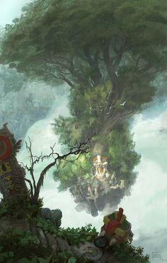 Shrine Island by *acapulc0 on deviantART