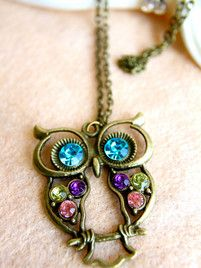 $10 A Vintage Hoot Necklace at https://shopsto.re/items/4287 #accessories #jewelry #necklace