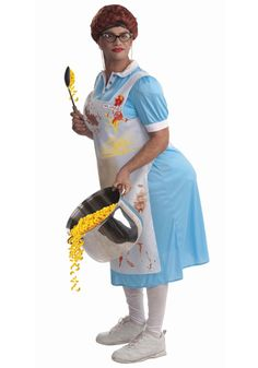 Lunch Lady costume #Halloween #Funny