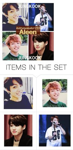 """""""My Lil'JUNGKOOK"""" by kittymonster123 ❤ liked on Polyvore featuring art"""