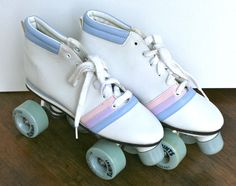 Vintage Sprints Roller Derby 1980's Roller Skates by MellowMermaid, $55.00