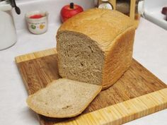Honey Wheat Bread: This bread is insanely good! I used my bread machine to make the dough and then baked TWO 1-lb loaves from one recipe in my oven (although the recipe calls for a 1-1/2 lb loaf in the bread machine). Baked at 375 for 20 min. Perfect!! Try this one!!
