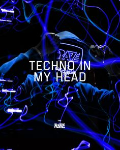 Techno in my head 🌀💙 Informations About RAVE Clothing Online Shop Electro Music, Techno Music, Rave Quotes, Rap, Underground Music, Dance Music, Jazz Music, Festivals, Music Logo