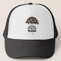 e264f3bb250 Idea Bloom Umbrella Trucker Hat - accessories accessory gift idea stylish  unique custom Hat Quotes