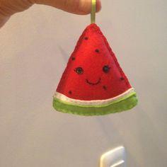 Melancia em feltro / Felt Watermelon