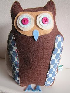 Sewing owl