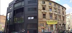 berlin vs. berlin (linienstrasse) Photo Library, Berlin, Multi Story Building
