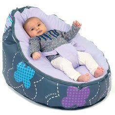 Doomoo Seat Patchwork Violet / Lastentarvikkeet - Sitterit ja leikkimatot / Pikku Pingviini - Pikkuisen parempaa perheen pienimmille
