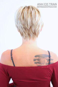 LOS ANGELES: SEXY & CUTE ASYMMETRICAL LONG PIXIE - ANH CO TRAN : CELEBRITY HAIR STYLIST