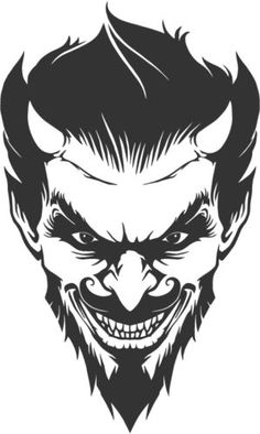Decals, Stickers & Vinyl Art Home & Garden Satan Drawing, Vinyl Art, Vinyl Decals, Age Of Mythology, Devil Tattoo, Satanic Art, Horror Monsters, Cartoon Stickers, Beste Tattoo