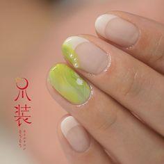「スズラン」  大好きなお花のうちのひとつ♡  #nail#naildesign #nailart #instanails #instagood#art #flower#sousou_nail #ネイル #ネイルアート #ネイルデザイン #スズラン#作品#爪装