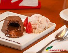 Restaurante America - Cardápio - Sobremesas - Gateau Nutella