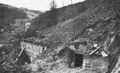 OBJECTIVE: PILLBOXES.  One of the heavily fortified pillboxes near Rollesbroich