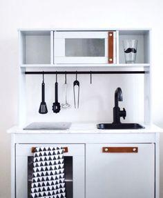 Leren handgrepen set voor Ikea Keuken