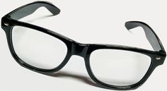 Buddy Holly Clear Lens Glasses    COOL TO THE MAX!! These are a reproduction of the style glasses that Buddy Holly wore in the 1950s.   Great for Parties and 50s Events. This is a great fun gift for men, too. Add a little white tape to the middle of the frames and you have Nerd Glasses!!  What could be more fun than that?