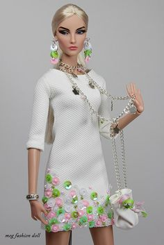New outfit for Fashion Royalty / FR 12 '' Summer XIV'' | Flickr