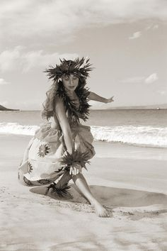 Wahine Hula Photograph