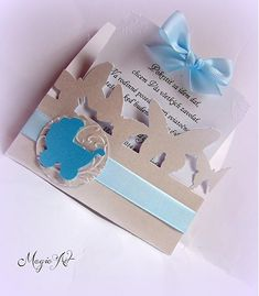 MagicArt / Pokrstiť sa idem dať :)  II. Handmade Invitations, Make Your Own Invitations