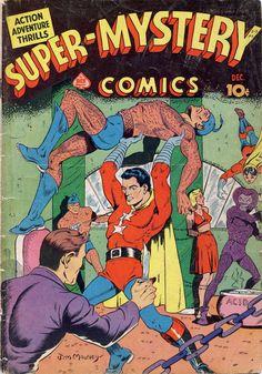 Comic Book Cover For Super-Mystery Comics v2 #5 - Date: Dec 1941 |