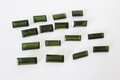 Natural Green Tourmaline Mixed  Lot 7.70cttw by BellaGems61 on Etsy $13.00