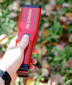 Portable & Refillable Fire Extinguisher by Philip Andersson