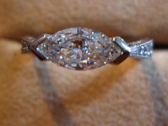 Horizontal marquise- I want it with an amethyst!