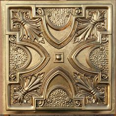 PL11 Faux finishes aged brass 3D embossed ceiling tiles Interior wall panel store cafe pub decor ceiling panels 10tiles/lot by Fauxpaintceilingtile on Etsy